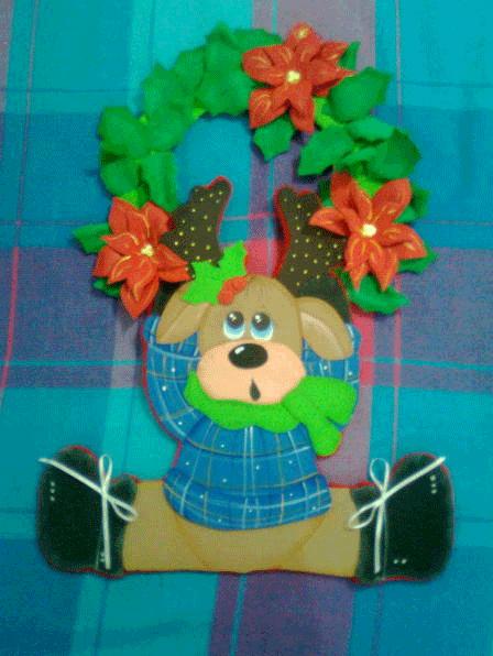 Decoracion De Navidad En Foami ~ Navidad en foami ? FIESTAIDEAS com, original idea para decorar tu