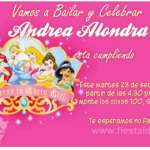 Invitaciones Princesas Disney Gratis 8