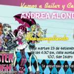 invitaciones Monster High 3