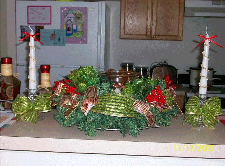 Navidad centro de mesa 2 - Centros de navidad originales ...