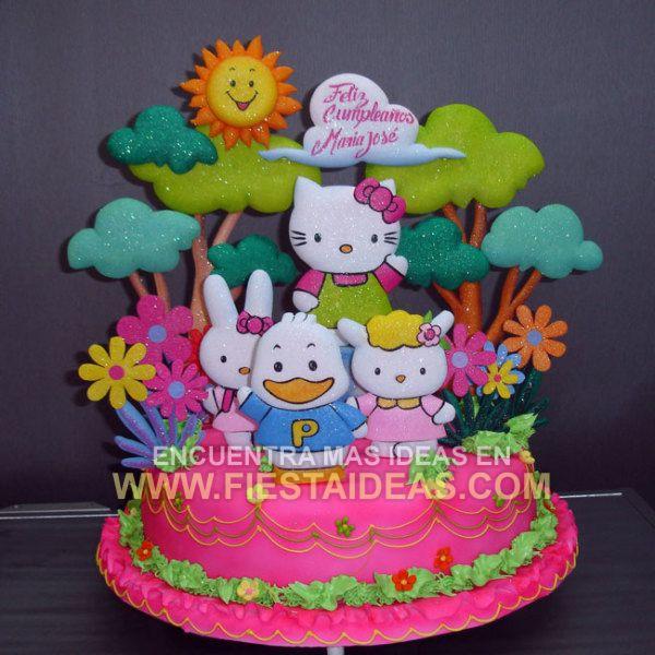 Kitty Decoracion De Tortas ~ Ideas de decoracion de Torta Hello Kitty