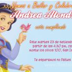 Invitaciones Blanca Nieves Gratis