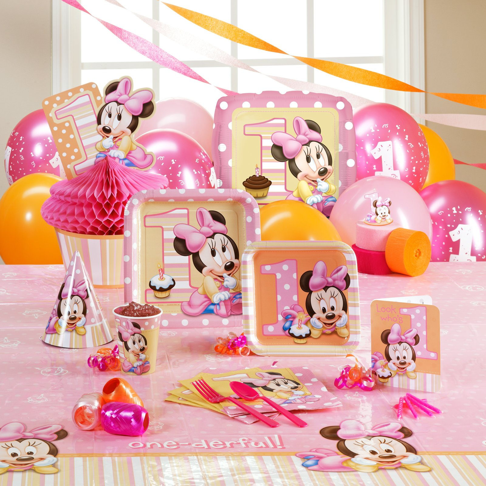 Cumplea os baby minnie mouse disney - Ideas decoracion bebe ...