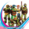 invitaciones de las Tortugas Ninja
