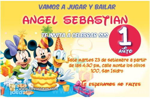 Tarjetas de Invitación de Cumpleaños Originales ★ Para