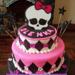 Tortas de Monster High