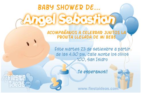 20 Invitaciones Para Baby Shower Edita E Imprime Gratis