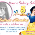 Invitaciones Blanca Nieves foto Gratis