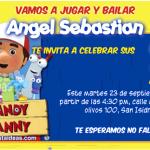 Invitaciones de Manny a la obra