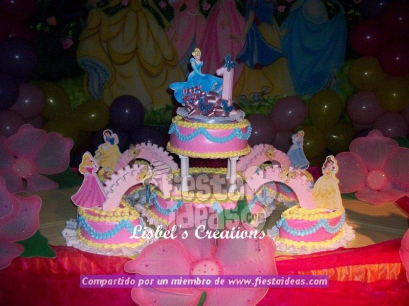 Galeria De Fotos Decoracion Princesas Disney