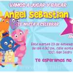 invitaciones de los Backyardigans