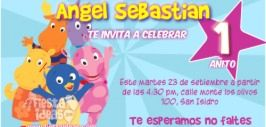 invitaciones Backyardigans