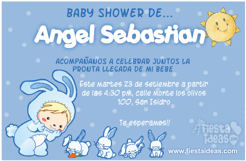 fiesta ideas invitaciones baby shower invitaciones de baby shower
