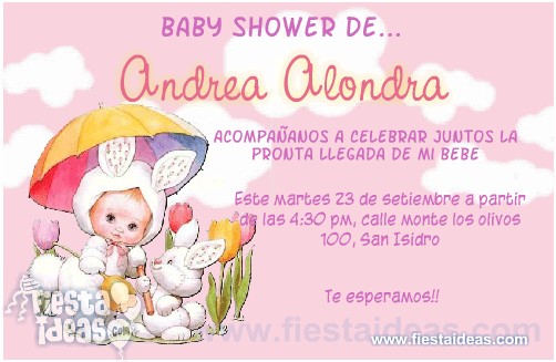 fiesta ideas invitaciones baby shower invitaciones baby shower de