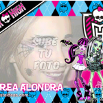Marco de fotos Monster High Gratis