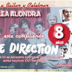 Invitaciones de One Direction