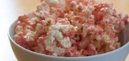 popcorn rosado fiesta princesas