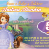 Invitaciones Princesa Sofía