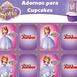 Princesa Sofía Kit Imprimible gratis