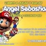 Invitaciones de cumpleaños de Super Mario Bros 2 Gratis