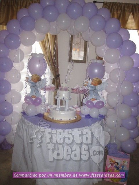 Bautizo Decoracion Fiesta ~ decoracion de globos fiestaideas baby shower ideas decoracion de