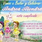 Invitaciones Princesas Disney Baby – Bebes en el Castillo Disney