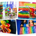 Fiesta arcoiris con ideas llenas de colores y diversion