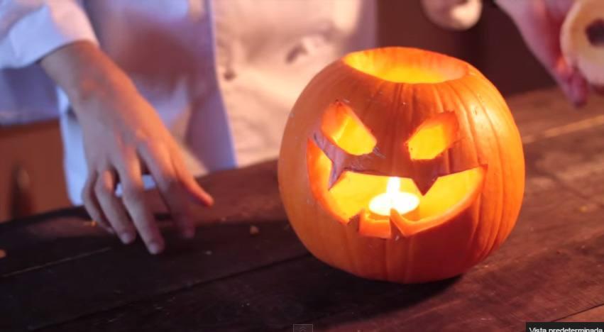 Ideas para hacer una calabaza de halloween muy divertida - Como hacer calabazas de halloween ...