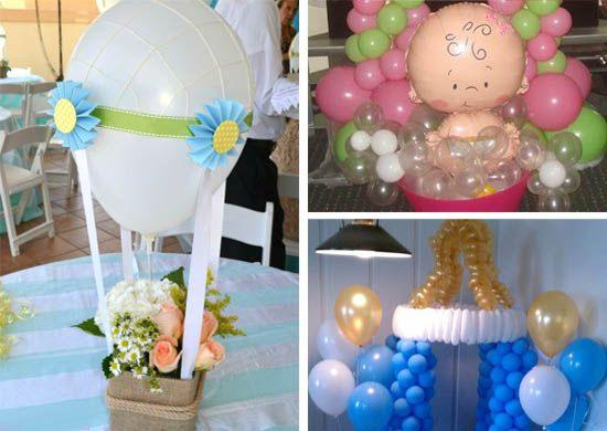 Decoracion Baby Shower Para Imprimir ~ 15 ideas para decoracion de baby shower con globos LA MAS COMPLETA