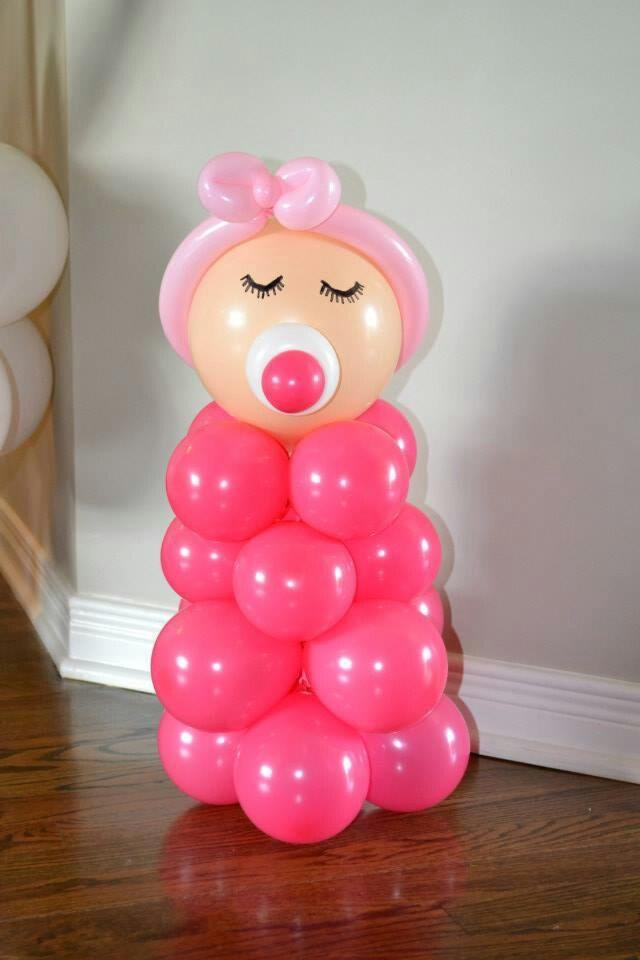Ideas Para Decorar Baby Shower Nina.15 Ideas Para Decoracion De Baby Shower Con Globos Te Encantaran