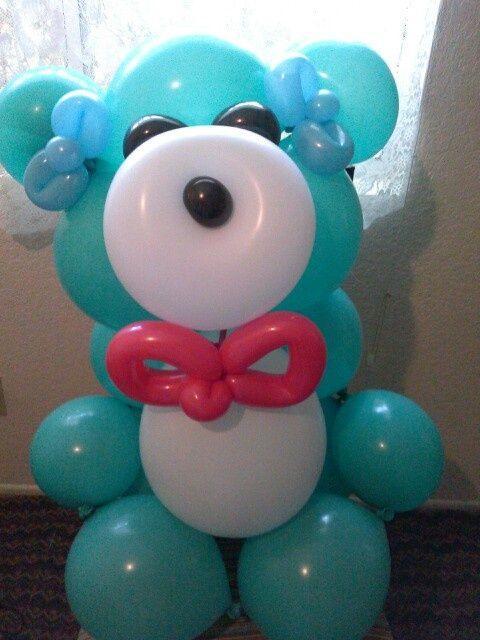 Ideas Baby Shower Nino Ositos.15 Ideas Para Decoracion De Baby Shower Con Globos Te Encantaran