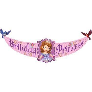 Primer Cumpleaos De Princesa Sofia Con Artculos Fiesta