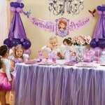 Primer cumpleaños de princesa sofia con artículos de fiesta originales