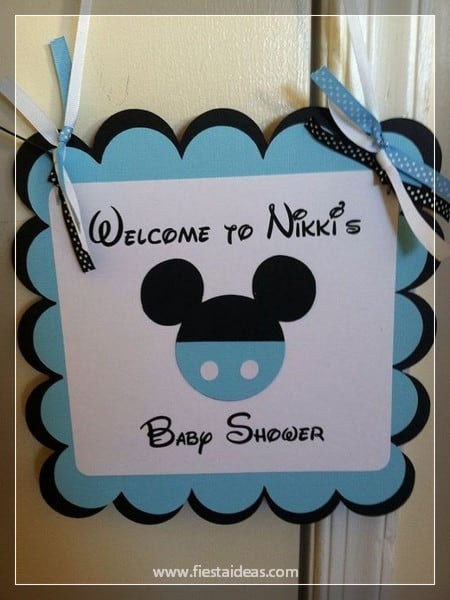 Tematica Para Baby Shower Varon.Decoraciones De Baby Shower Con Mickey Mouse