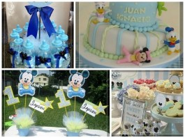 Baby Shower Para Niño Con Hermosas Decoraciones