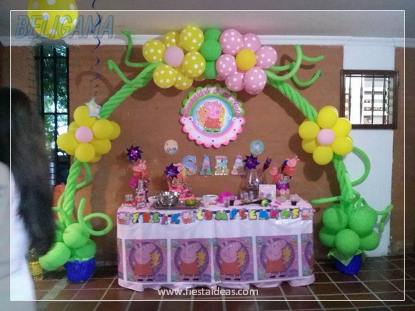 Peppa pig original fiesta de cumplea os infantil for Decoracion e ideas