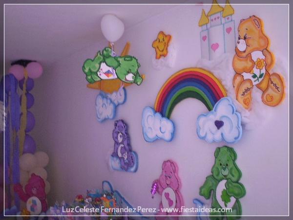 Ositos cariñositos una original Fiesta arcoíris