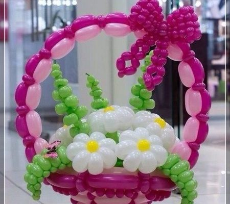 20 decoraciones de flores con globos super creativas - Ideas decoracion fiesta ...