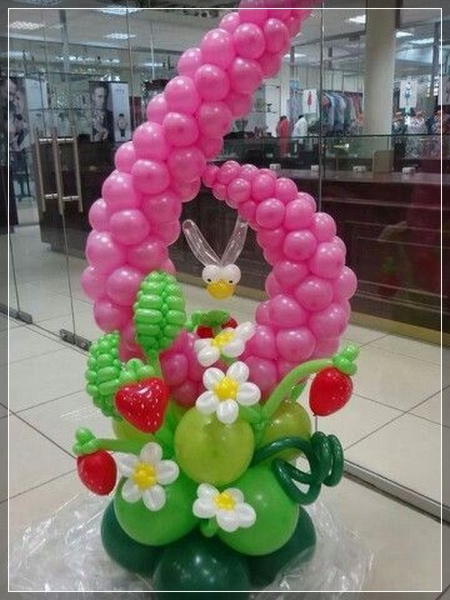 20 Decoraciones De Flores Con Globos Super Creativas - Como-hacer-flores-de-globos