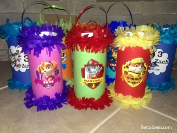 Originales ideas de fiesta de paw patrol con decoraciones - Ideas decoracion fiesta ...