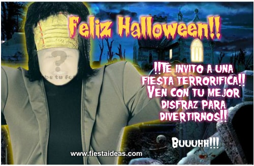 Crea Invitaciones De Halloween Para Editar 2018 Gratis