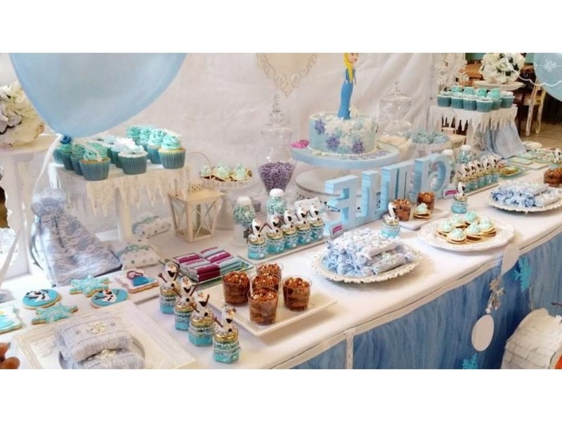 Bocaditos Para Baby Shower Originales.30 Centros De Mesa De Frozen Originales Ideas Que Te