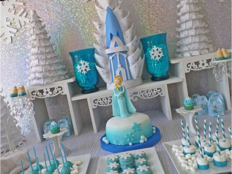 30 Centros De Mesa De Frozen Originales Ideas Que Te Encantaran