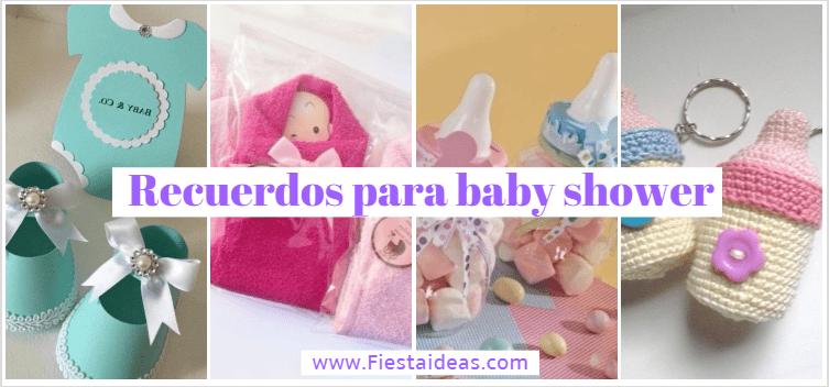25 Recuerdos Para Baby Shower (Todas Son Increibles Y