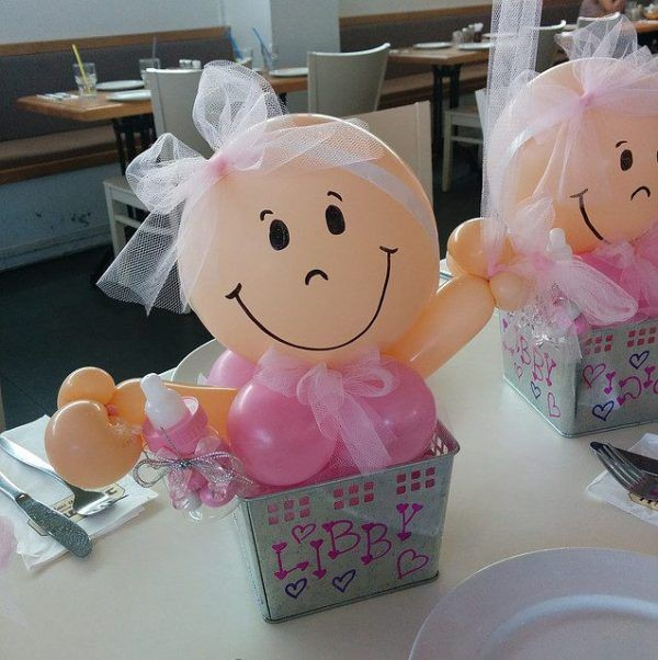 Arreglos Faciles Para Baby Shower.15 Ideas Para Decoracion De Baby Shower Con Globos Te Encantaran
