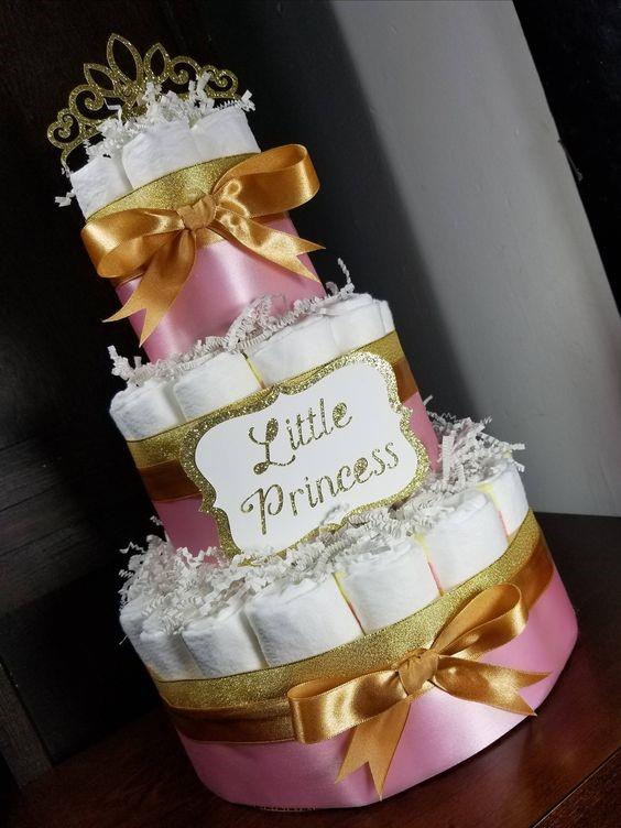 Decoracion Baby Shower Nina De Princesa.55 Pasteles Para Baby Shower Muy Originales Y Deliciosos