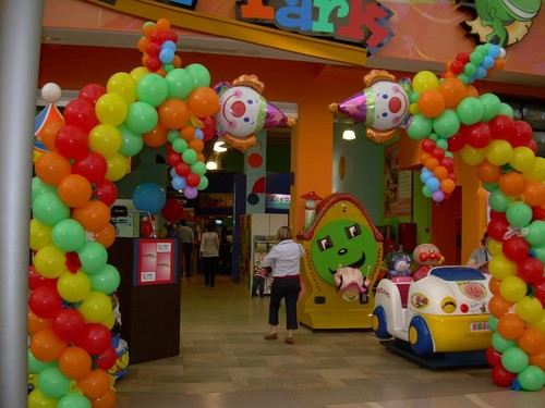 30 decoraciones con globos para fiestas infantiles ideas - Decoraciones para cumpleanos infantiles ...