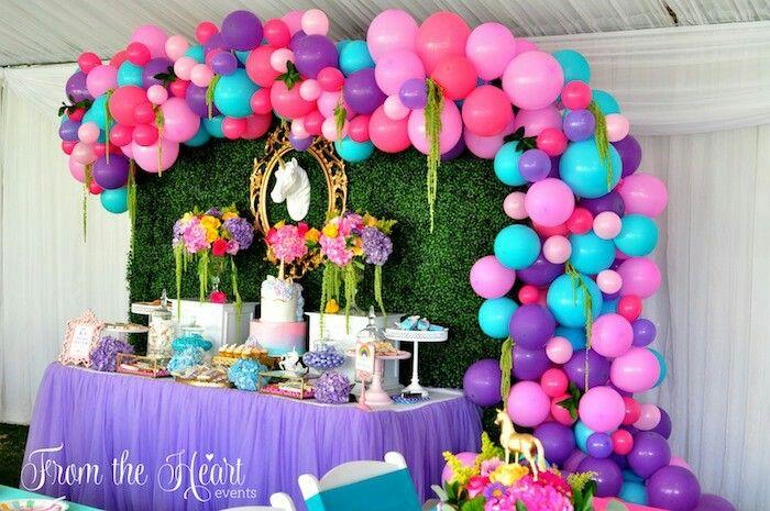 32d032312 Cómo hacer decoración con globos paso a paso. Las decoraciones con globos  para fiestas infantiles ...